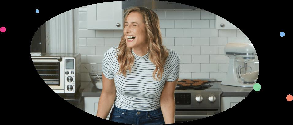 Loren In Kitchen