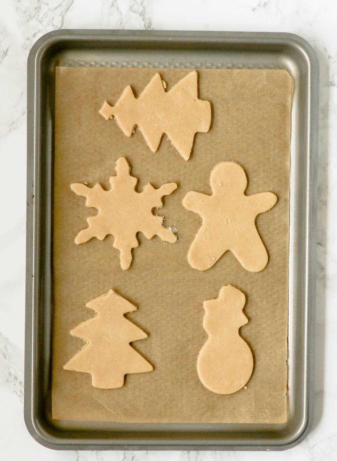 holiday shaped sugar cookies recipe - Sweet Loren's
